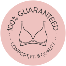 100% guaranteed- comfort, quality, and fit