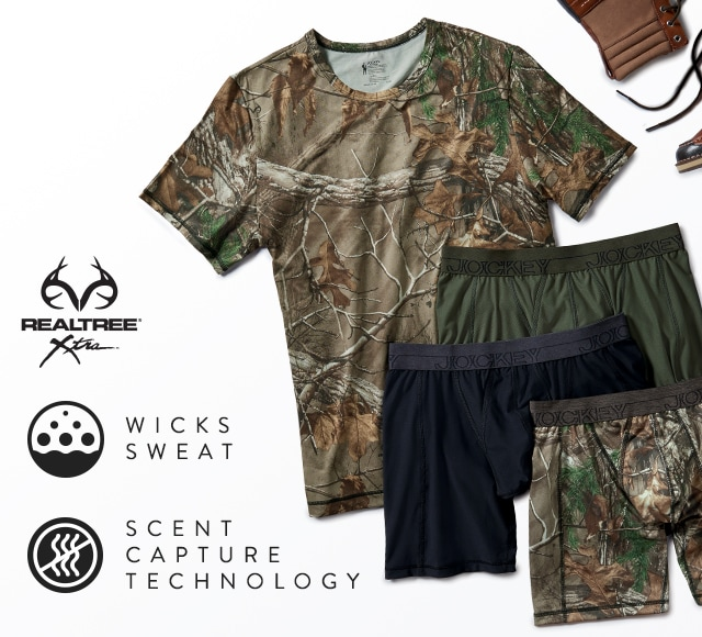 RealTree Camo T-shirt and Underwear