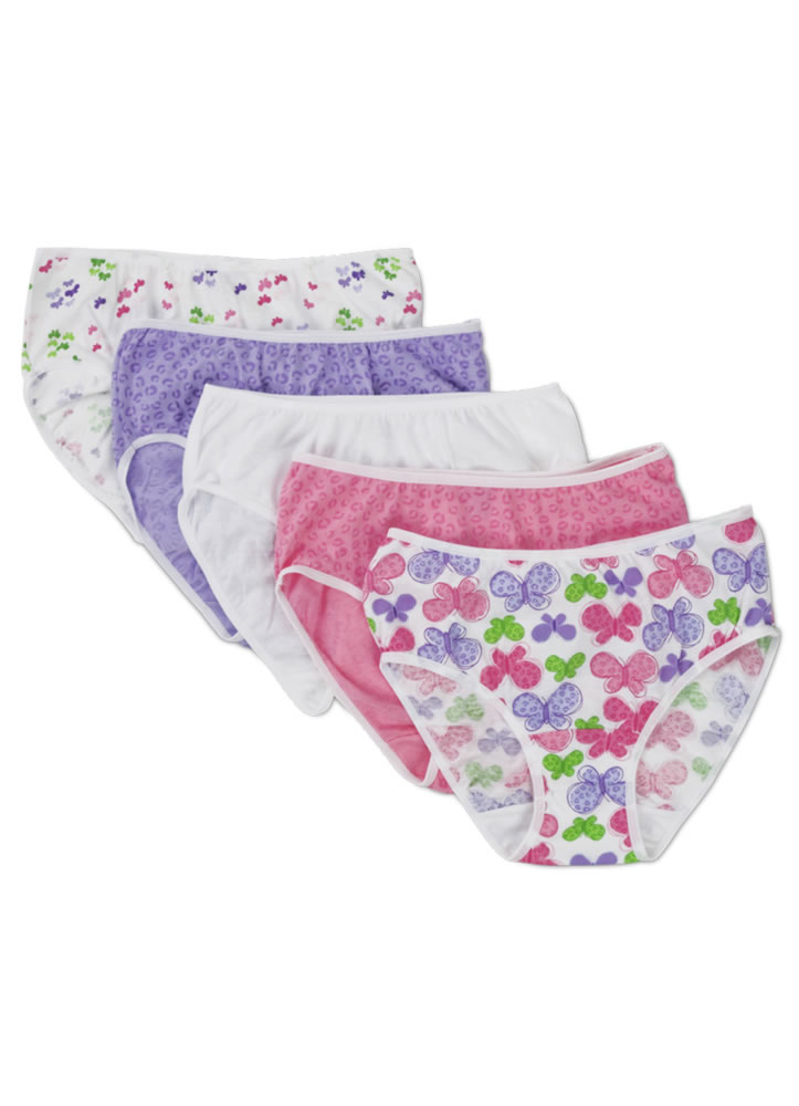 989d3a23c945 Jockey girls print hipster - 5 pack 145578 at Jockey.com Girls's Underwear