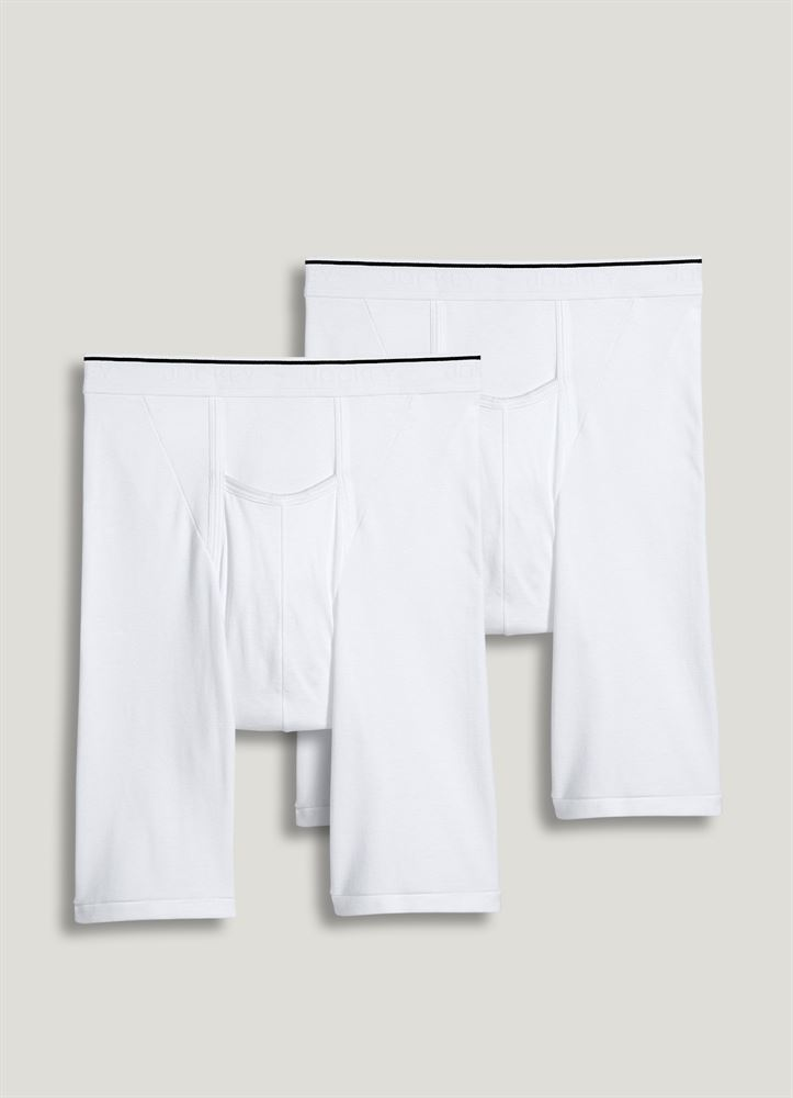 90e3dfbcce3e Jockey Pouch Big Man Midway Brief - 2 Pack