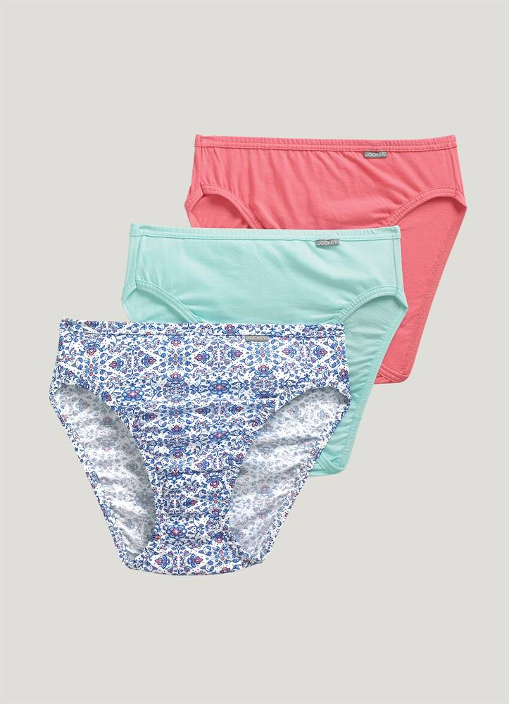 c43c5878652 Jockey® Plus Size Elance® French Cut - 3 Pack.  22.50. OMF OMB LDF. Hover  To Zoom