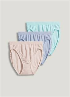 a096baea049 Jockey Supersoft French Cut - 3 Pack 25.508 Colors Available. Quick View