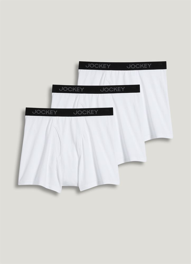 8da26eb59aa0 Jockey Classic Stretch Boxer Brief - 3 Pack