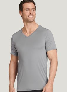 V Neck T Shirts For Men Cotton V Neck Undershirts Classic V Necks