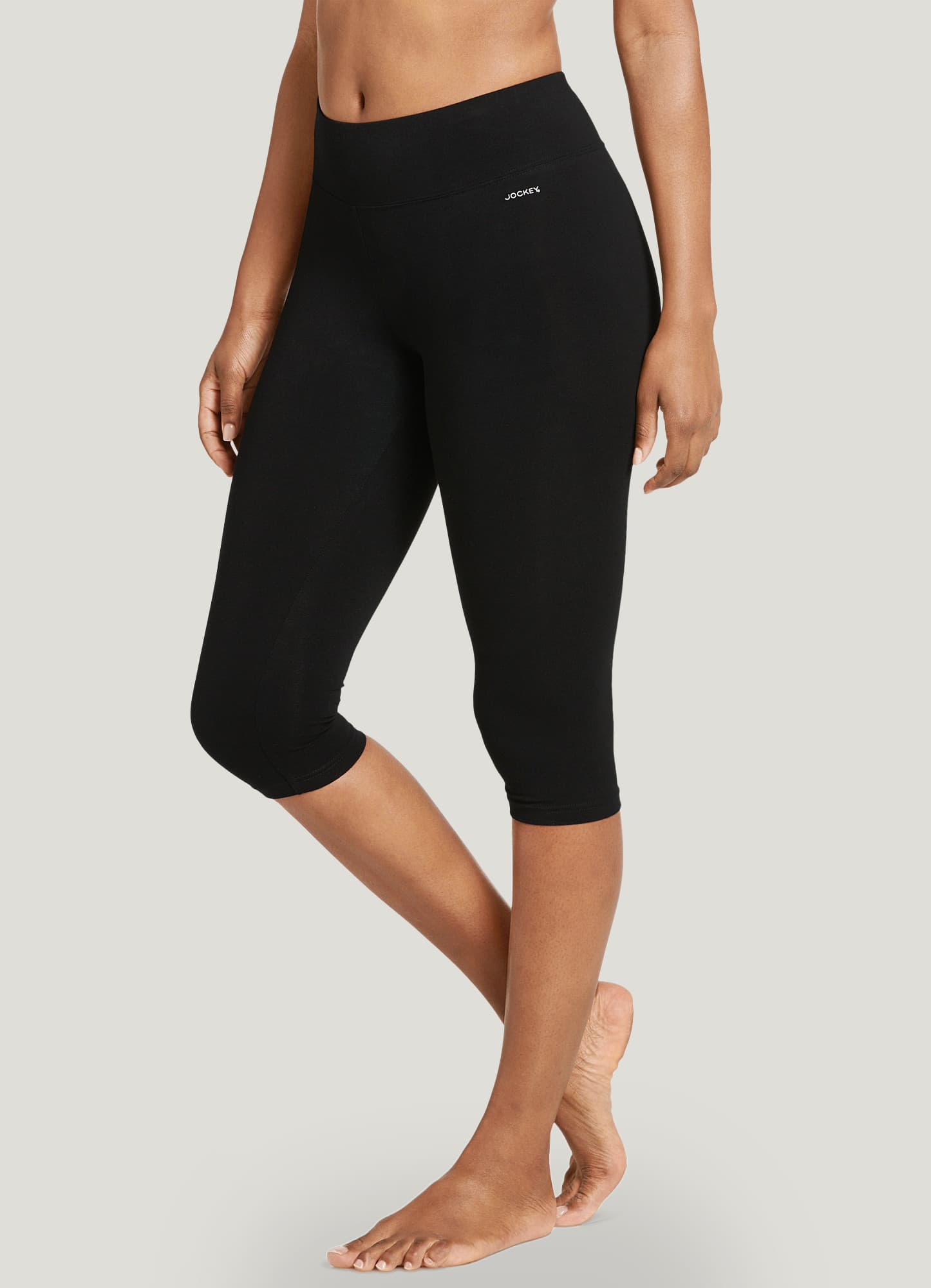 Jockey | Cotton Stretch Capri Legging | Leggings