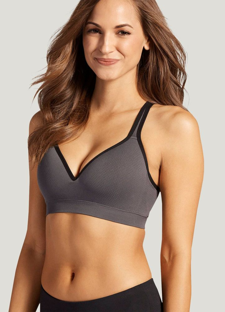 Jockey Mid Impact Molded Cup Seamless Sports Bra Jockey Com